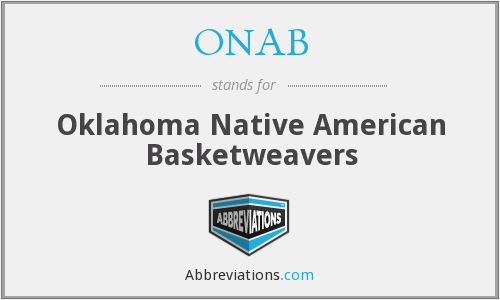 ONAB - Oklahoma Native American Basketweavers