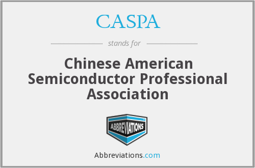 CASPA - Chinese American Semiconductor Professional Association