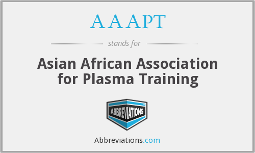 What does AAAPT stand for?