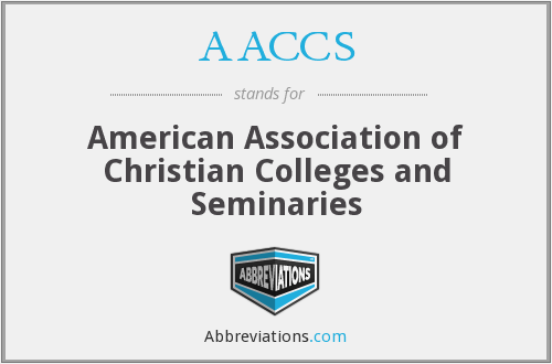 AACCS - American Association of Christian Colleges and Seminaries