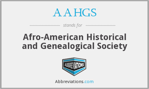 What does AAHGS stand for?
