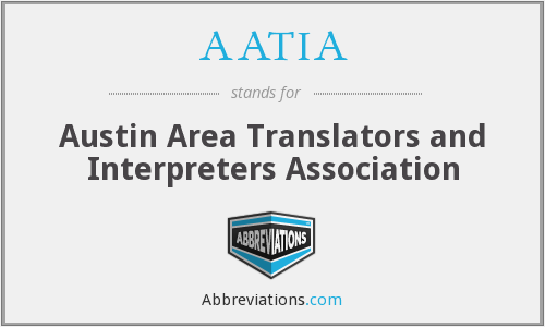 What does AATIA stand for?