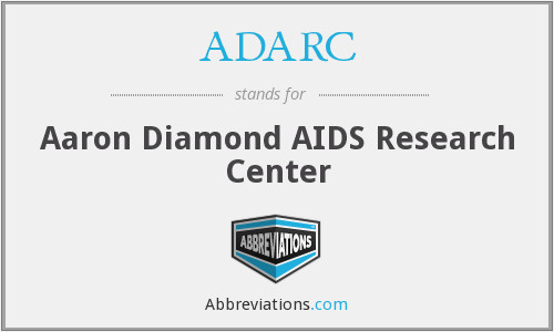 ADARC - Aaron Diamond AIDS Research Center