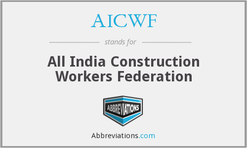 What does AICWF stand for?