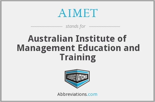 What does AIMET stand for?
