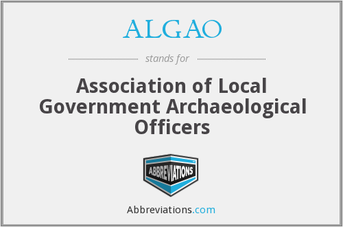 What does ALGAO stand for?