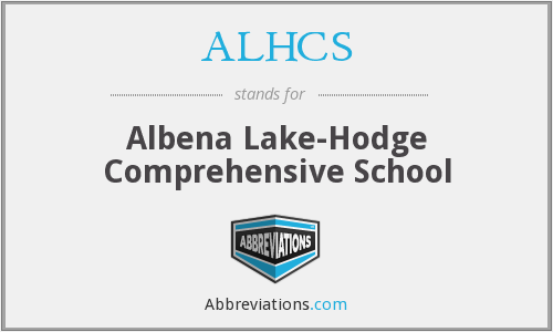 What does ALHCS stand for?
