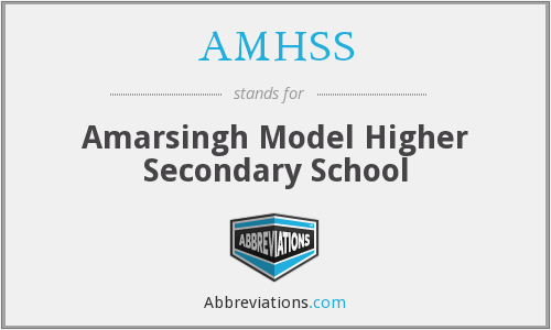 What does AMHSS stand for?