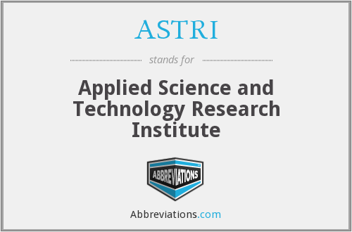 What does ASTRI stand for?