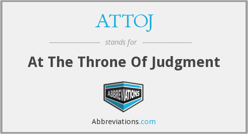 ATTOJ - At The Throne Of Judgment