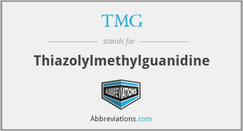 TMG - Thiazolylmethylguanidine