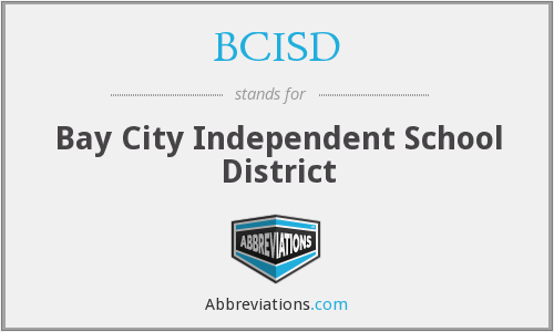 What does BCISD stand for?