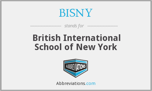 What does BISNY stand for?