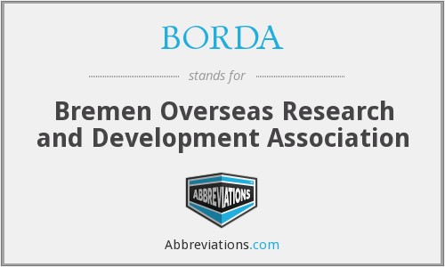 What does BORDA stand for?
