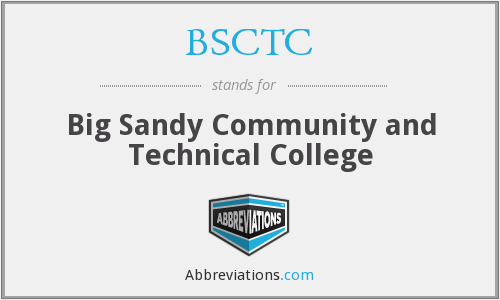 What does BSCTC stand for?