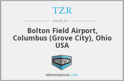 TZR - Bolton Field Airport, Columbus (Grove City), Ohio USA
