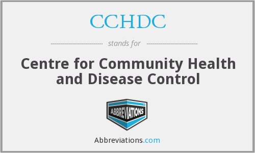 CCHDC - Centre for Community Health and Disease Control