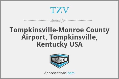 TZV - Tompkinsville-Monroe County Airport, Tompkinsville, Kentucky USA