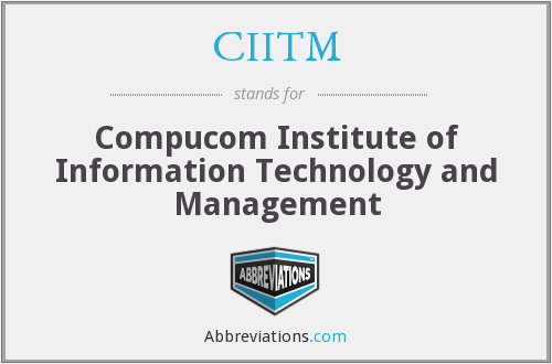 What does CIITM stand for?