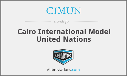 What does CIMUN stand for?