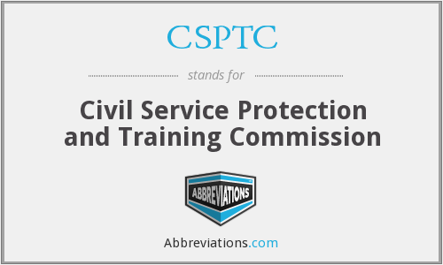 What does CSPTC stand for?