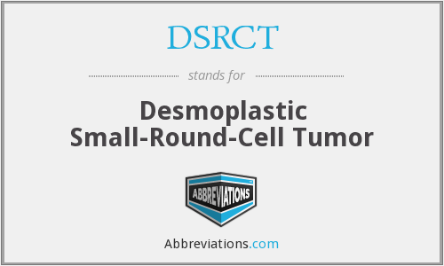 DSRCT - Desmoplastic Small-Round-Cell Tumor
