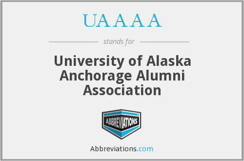 UAAAA - University of Alaska Anchorage Alumni Association