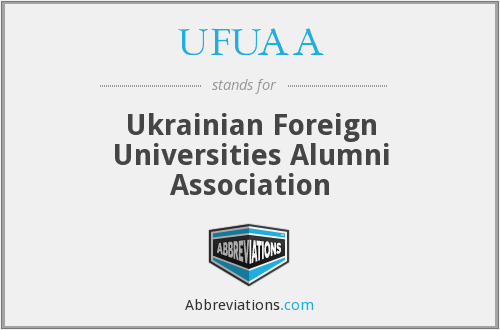 UFUAA - Ukrainian Foreign Universities Alumni Association