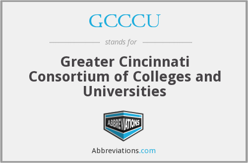 What does GCCCU stand for?
