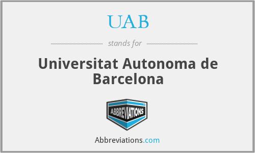 UAB - Universitat Autonoma de Barcelona