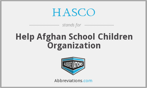 What does HASCO stand for?