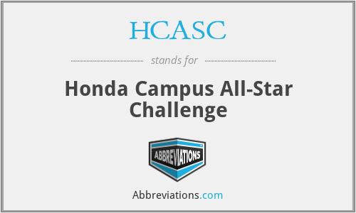 HCASC - Honda Campus All-Star Challenge