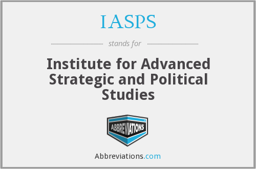 What does IASPS stand for?