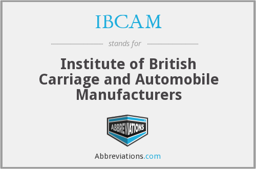 What does IBCAM stand for?