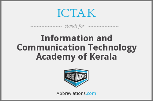 What does ICTAK stand for?
