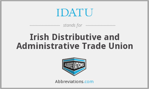 What does IDATU stand for?