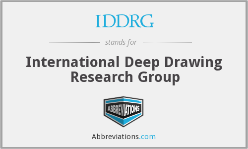 What does IDDRG stand for?