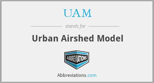 UAM - Urban Airshed Model