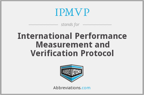 What does IPMVP stand for?