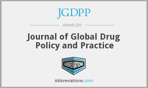 What does JGDPP stand for?