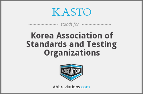 What does KASTO stand for?