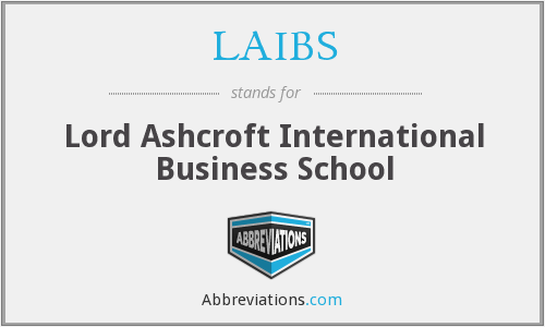 What does LAIBS stand for?
