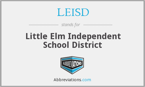 What does LEISD stand for?