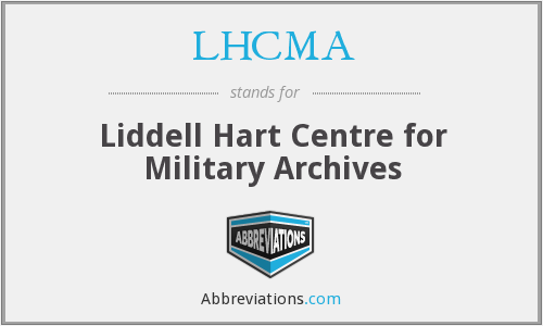 What does LHCMA stand for?
