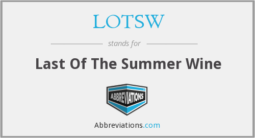 What does LOTSW stand for?