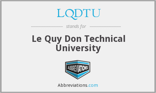 What does LQDTU stand for?