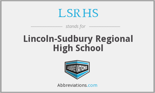 What does LSRHS stand for?