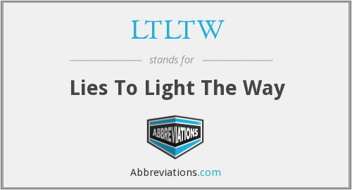 What does LTLTW stand for?
