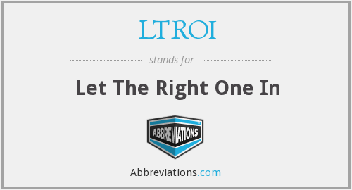 What does LTROI stand for?