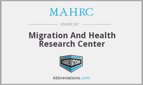What does MAHRC stand for?